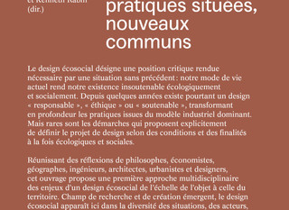 DESIGN ÉCOSOCIAL : parution officielle!