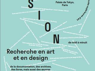"""ÉVÉNEMENT : """"VISION Recherche en école d'art et de design"""" L'ESAD Valenciennes exp"""