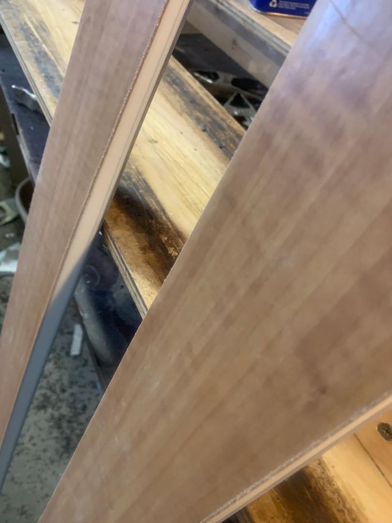 Anegre wood veneer
