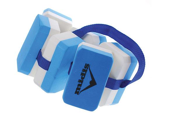 חגורת קוביות ללימוד שחייה
