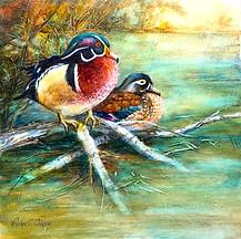Wood Ducks. Sold