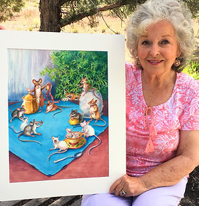 Vivian Olsen & BookArt.JPG