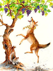 Miss Miss Coyote and the Sour Grapes