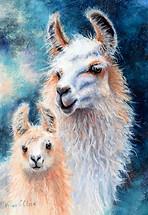 Llama Mama.  Sold