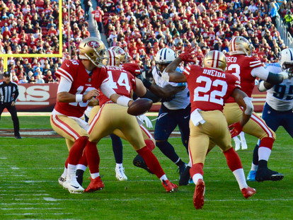 Making the Grade: Grading the 49ers Offense Through the Bye