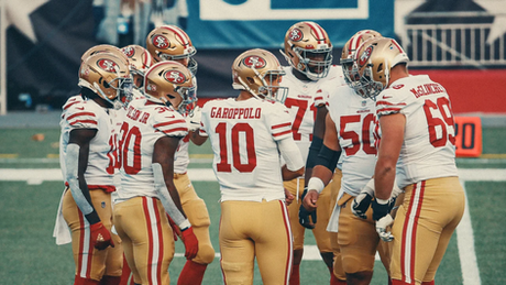 The 49ers' Offensive Line and the Lone Sack