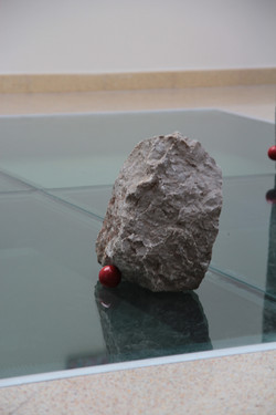 light composition of stone (marble)
