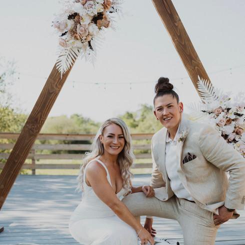 Two Brides Bridal Makeup