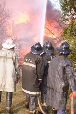 Wickliffe firemen