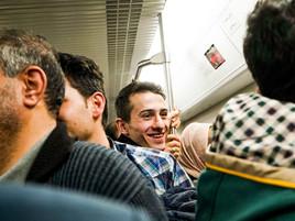 A Persian Prince in Tehran's Metro