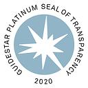 2020 Guidestar Platinum Seal Of Transpar