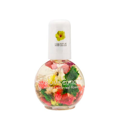 BLOSSOM CUTICLE OIL WITH FLOWERS – 12.5ML HIBISCUS