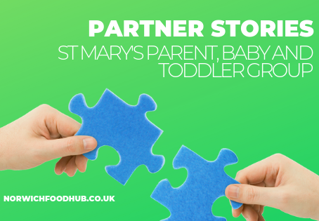 Meet our partners: St Mary's Parent, Baby and Toddler Group