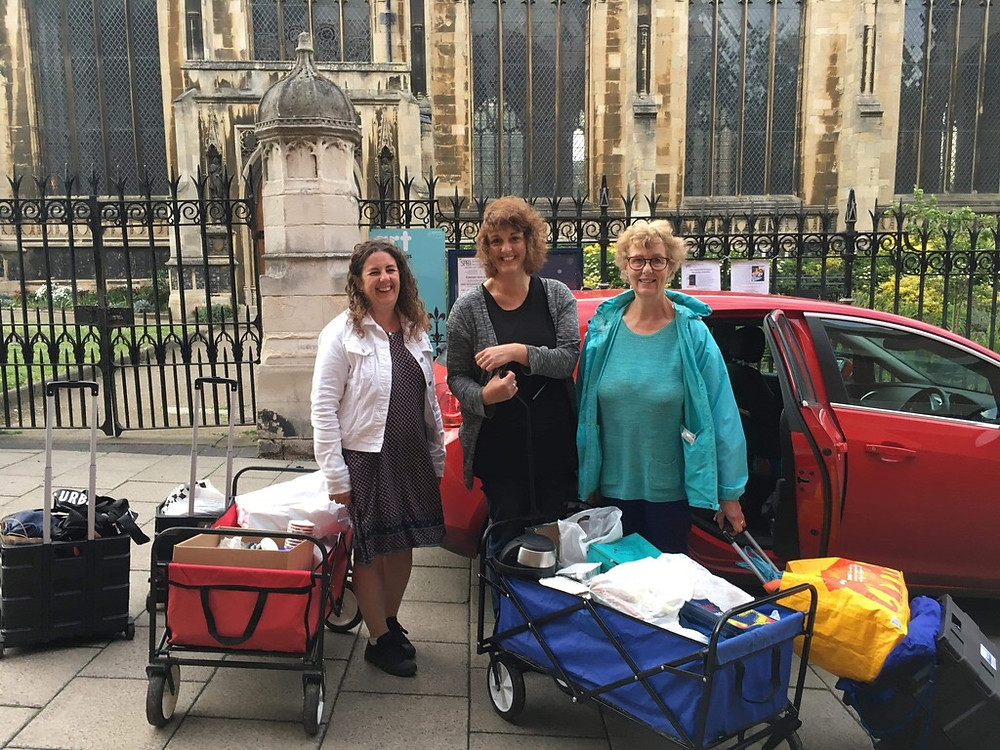 Anon Street Team, homelessness, Norwich, food waste, surplus food