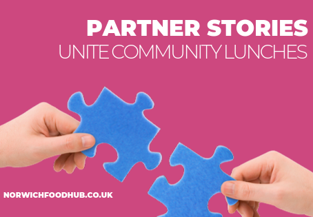 Meet our partners: fighting holiday hunger with Unite Union Norwich