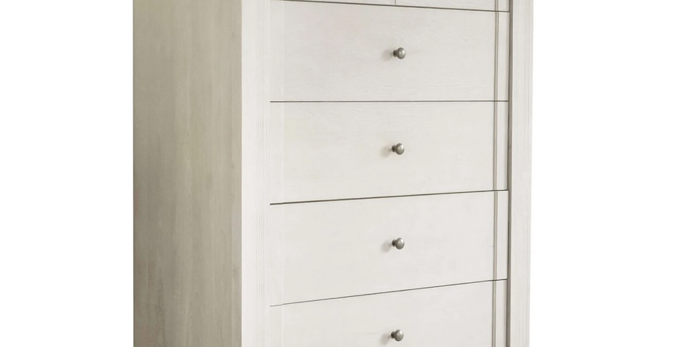 Milk Street Cameo - Tall Chest 5 Drawer Dresser