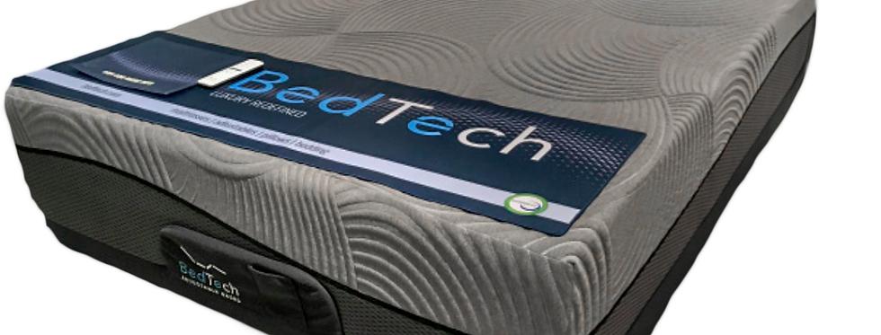 """BedTech 8"""" Twin XL Gel-Max Memory Foam Mattress"""