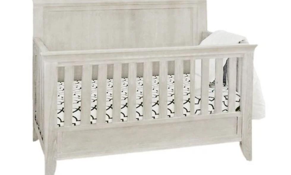 Milk Street Cameo - Sleigh Conversion Crib