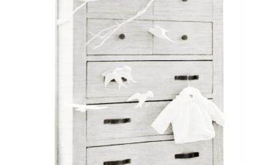 Milk Street Relic - Tall Chest 5 Drawer Dresser