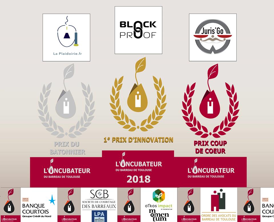 Prix du Bâtonnier - Incubateur du Barreau de Toulouse