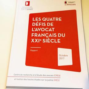 """Atelier CNB """"Les quatre défis de l'avocat français du XXIe siècle"""""""