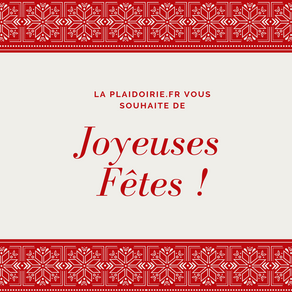 La Plaidoirie.fr vous souhaite de joyeuses fêtes !