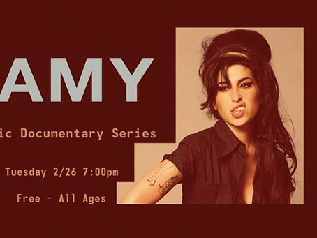 ‎LIVE HOUSE HOLLYWOOD‎ MUSIC DOCUMENTARY SERIES FEATURES AMY