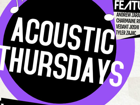 ACOUSTIC THURSDAYS FEB 28TH