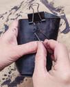 Leather Koozie - 2 hours