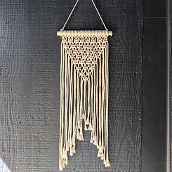 Macrame Wall Hanging make your own DIY Home Decor on your next girls night out - bachelorette party