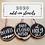 Thumbnail: Wood Slice Ornaments Kit