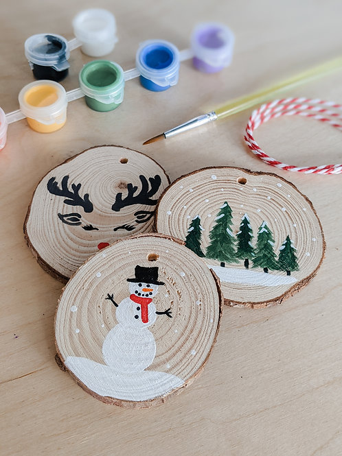Hand Painting Ornaments Kit