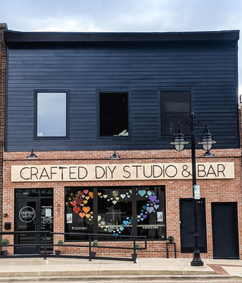 Crafted DIY Studio & Bar Exterior