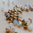 Champagne Beads for Wrap Bracelet