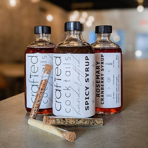 Handcrafted Cocktail Syrup
