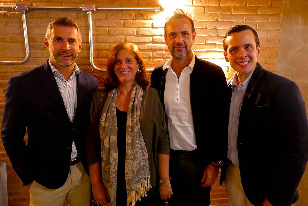 Cristian Bernardi, Ana Queiroga, Claudio Carvalho e Stefano Parziale