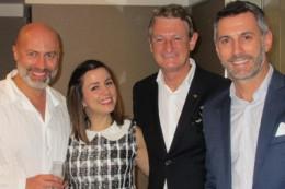 Filippo Curinga, Chiara Della Bosca, Corrado Neyroz e Cristian Bernardi
