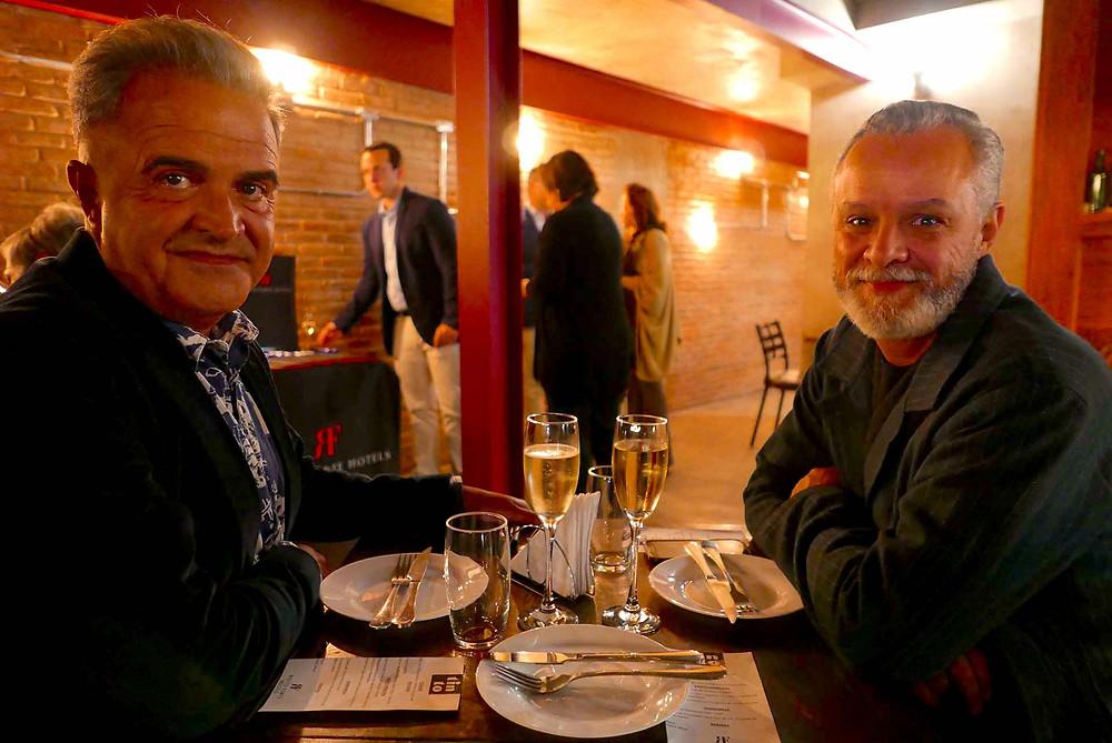 Fernando Pessoa e Wilter Machado, da Destaque Turismo