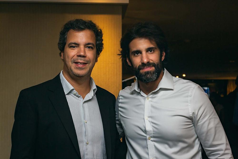 Guilherme Burti e Rafael Buffara, da Sete Mares Turismo