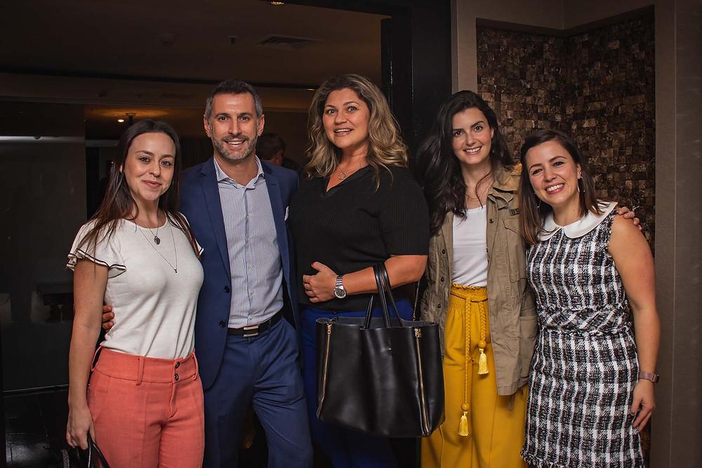 Cristian Bernardi com a equipe da Primetour