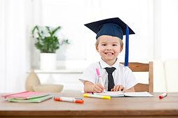Escola dedicada à educação infantil