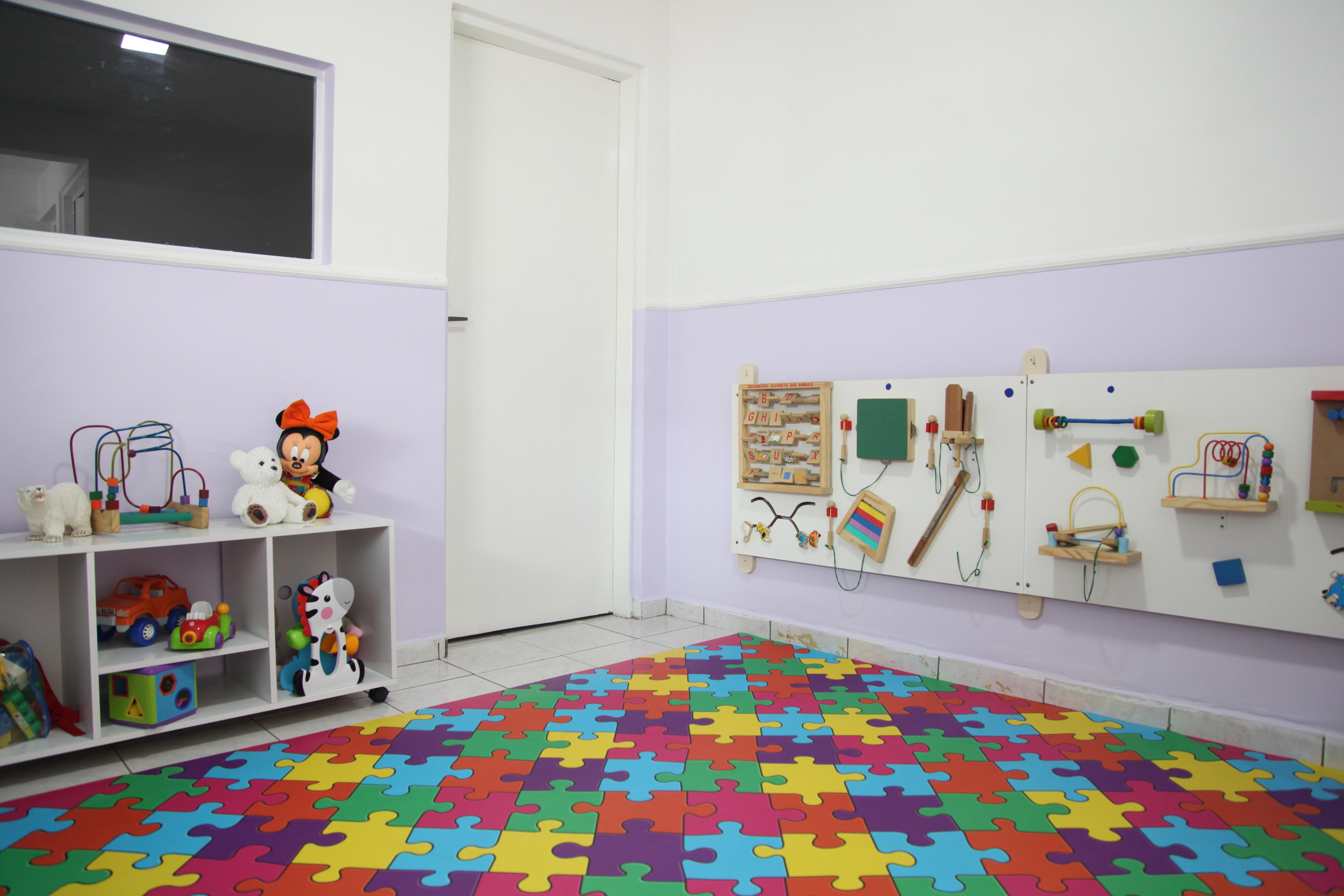 Área de recreação Mini Maternal