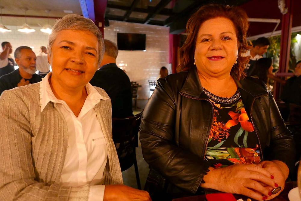 Maria Inês Eugênio, da Persona, e Zenaide Chaves, da Lumini Turismo