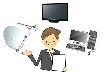 テレビ受信方法