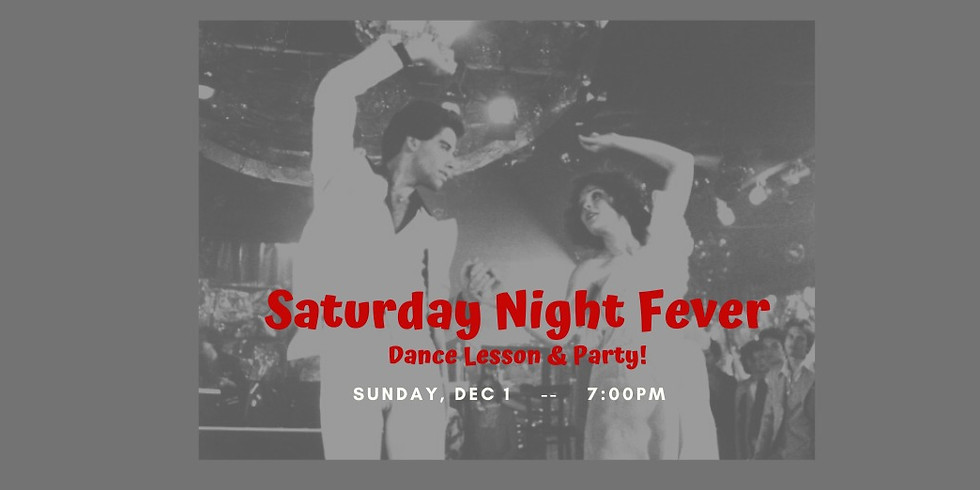 Saturday Night Fever Party!