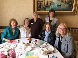 Book and Needle Members at April Council