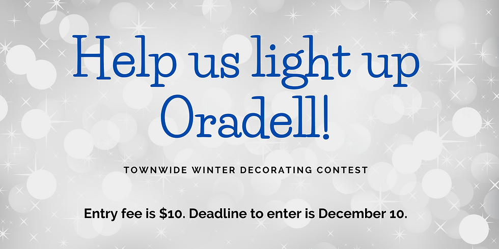 Help us light up Oradell!