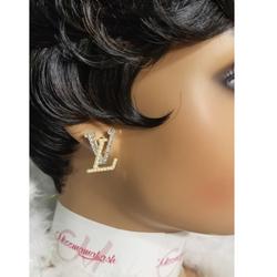 Luxury Letter Earrings
