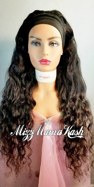 100% Virgin Hair Headband Wigs
