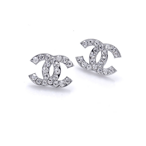 CC Bling Studs in Silver